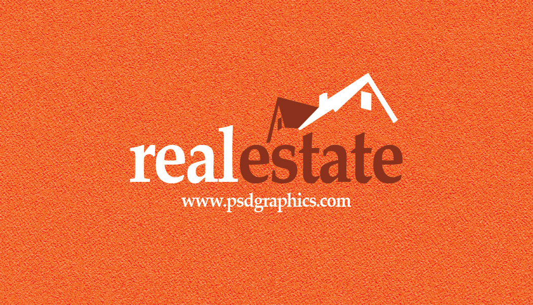 Real estate business card psdgraphics real estate business card front reheart Choice Image
