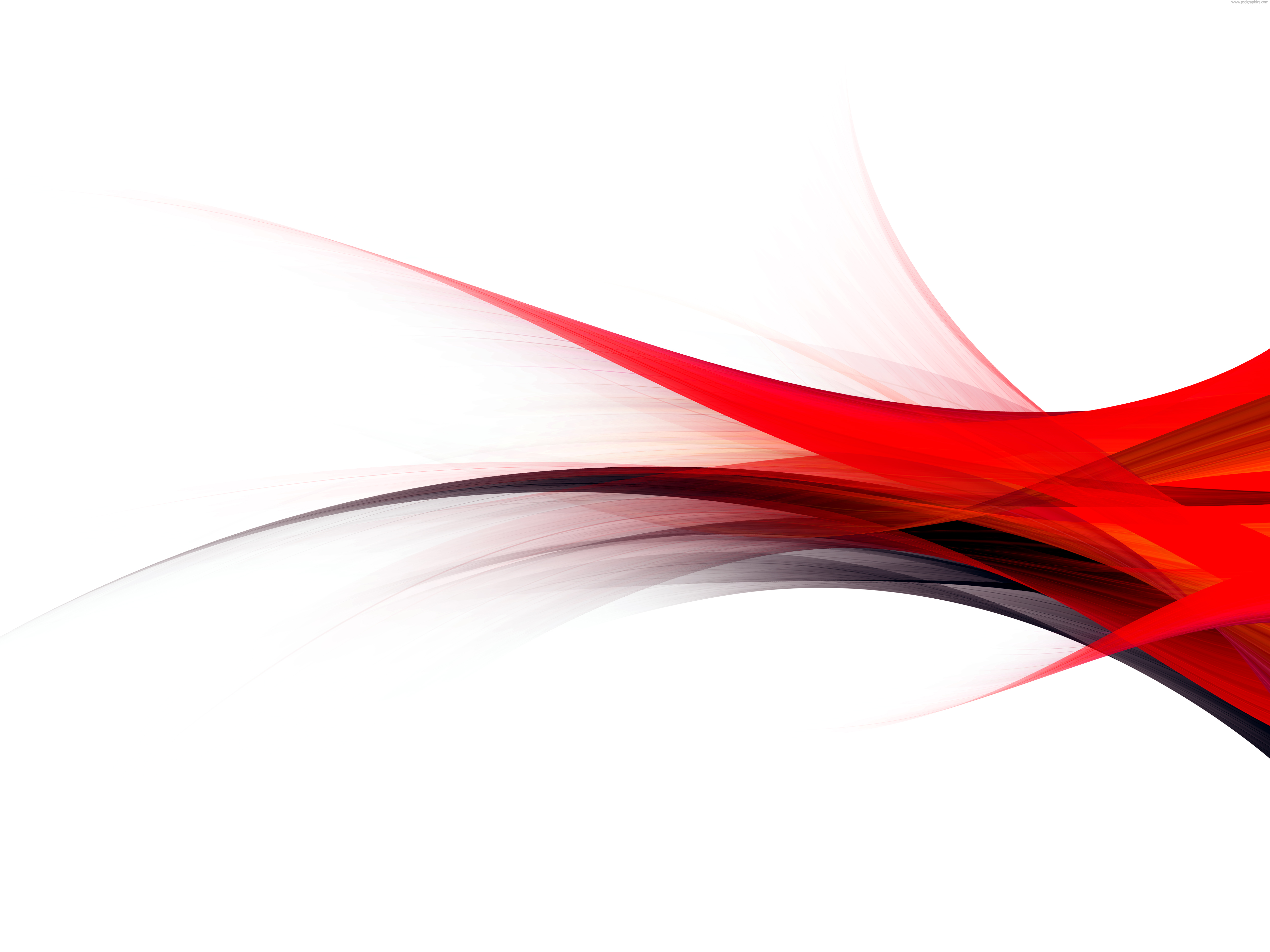 Red And Black Flow Background