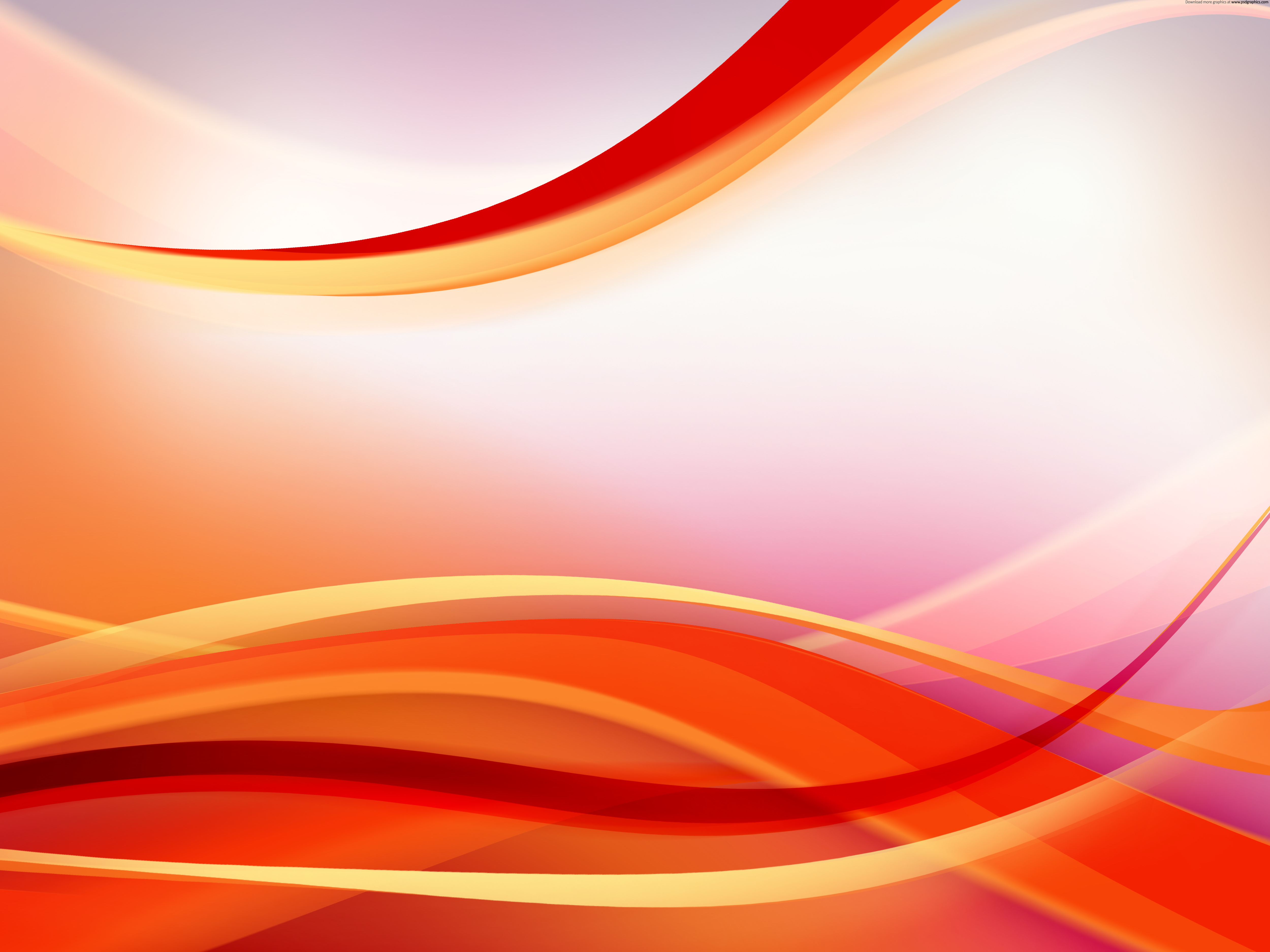 Red Flowing Background