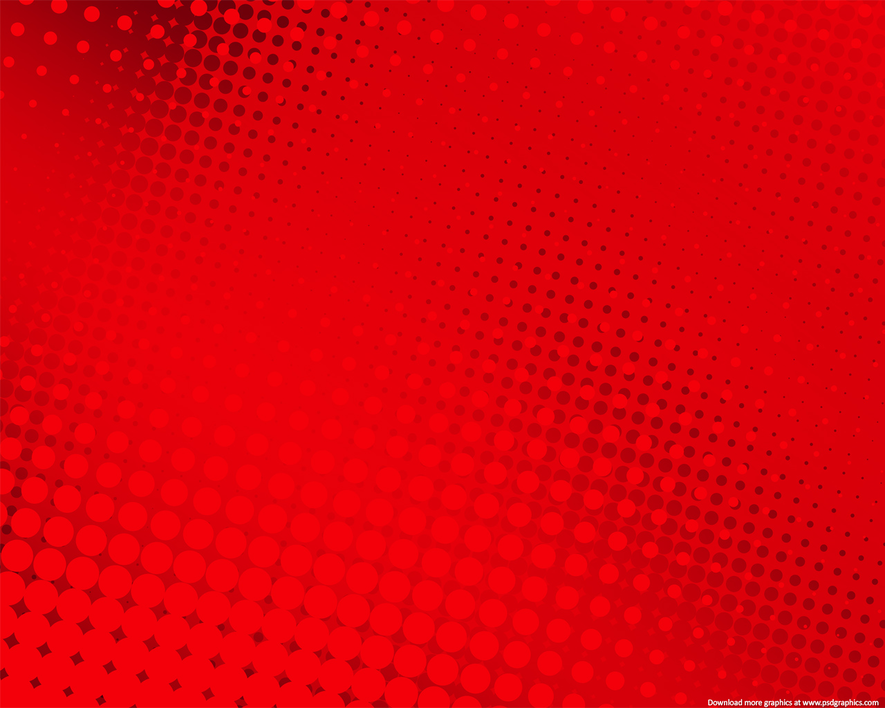 Medium size preview (1280x1024px): Red halftone background