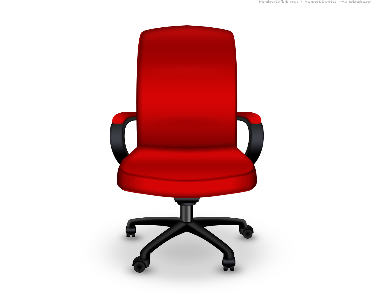 Leather Black Swivel Chair Office Chair, Office Chair With ... |Clipart Black Leather Chair