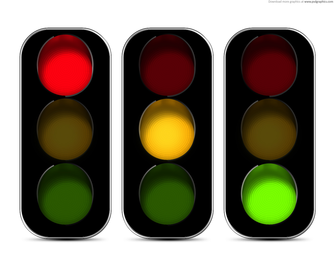 Traffic lights icon (PSD) | PSDGraphics for Traffic Light Red Icon  174mzq
