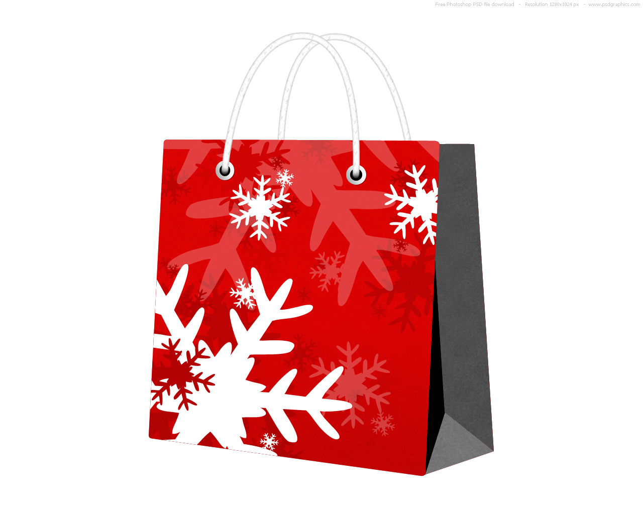 christmas gift bags clipart - photo #32
