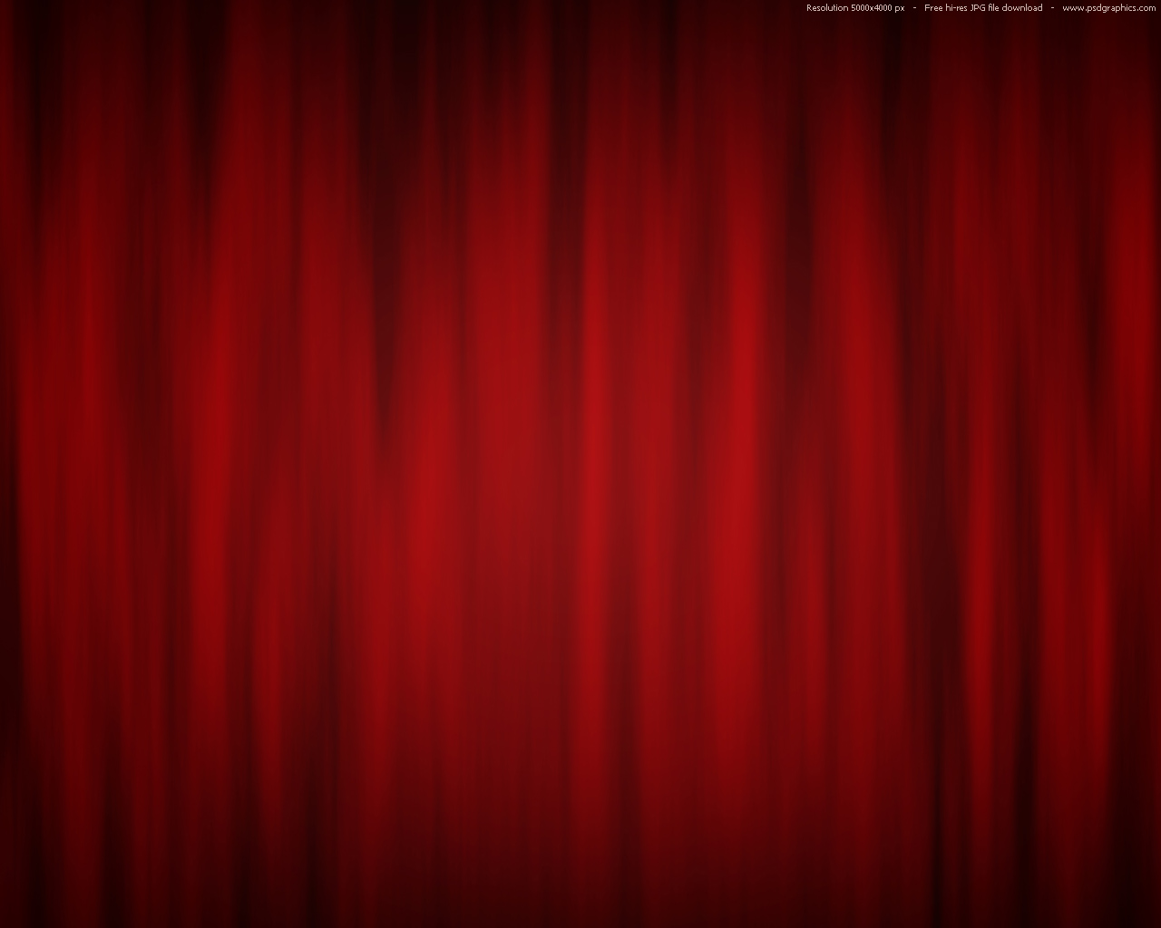 Red curtain background theatre stage