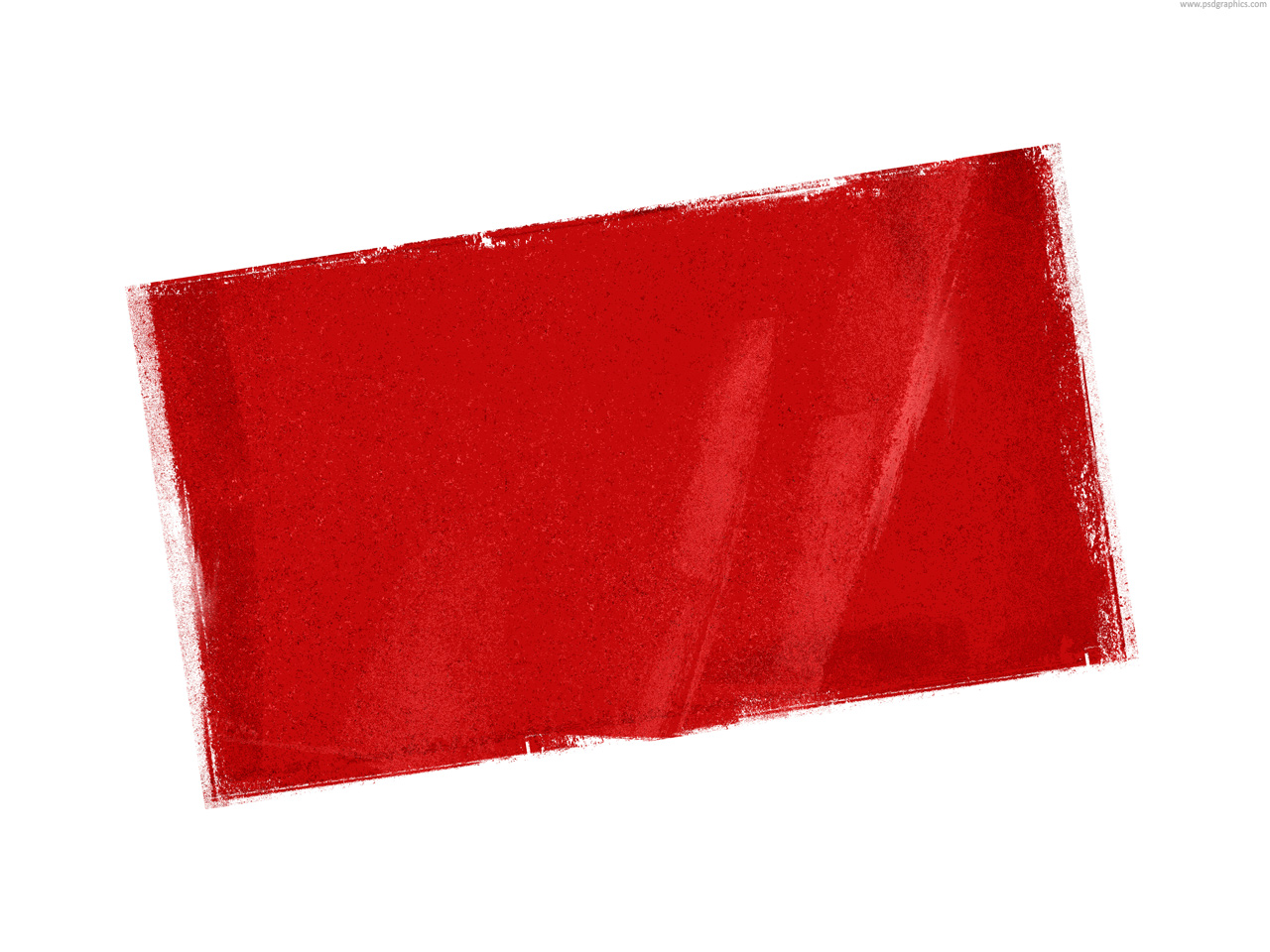 Red stamp template | PSDGraphics