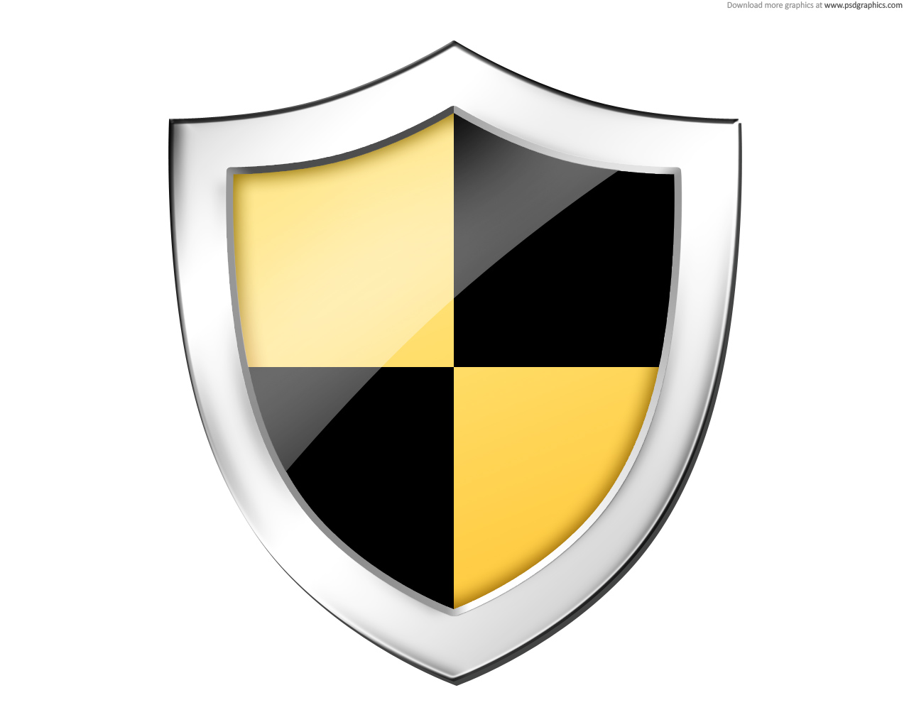 Shield, securtiy icon (PSD) | PSDGraphics