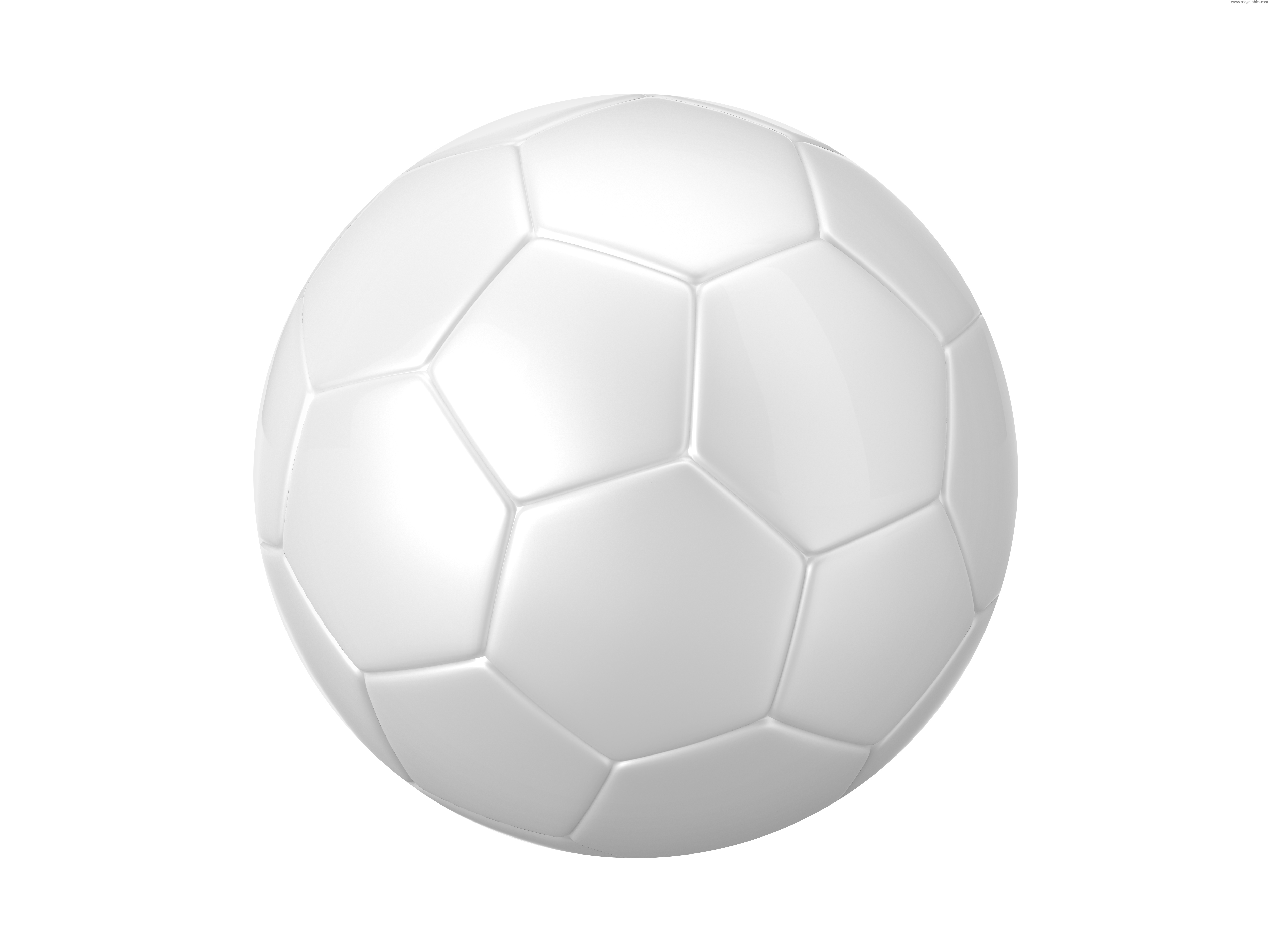Black and white football (soccer) balls | PSDGraphics