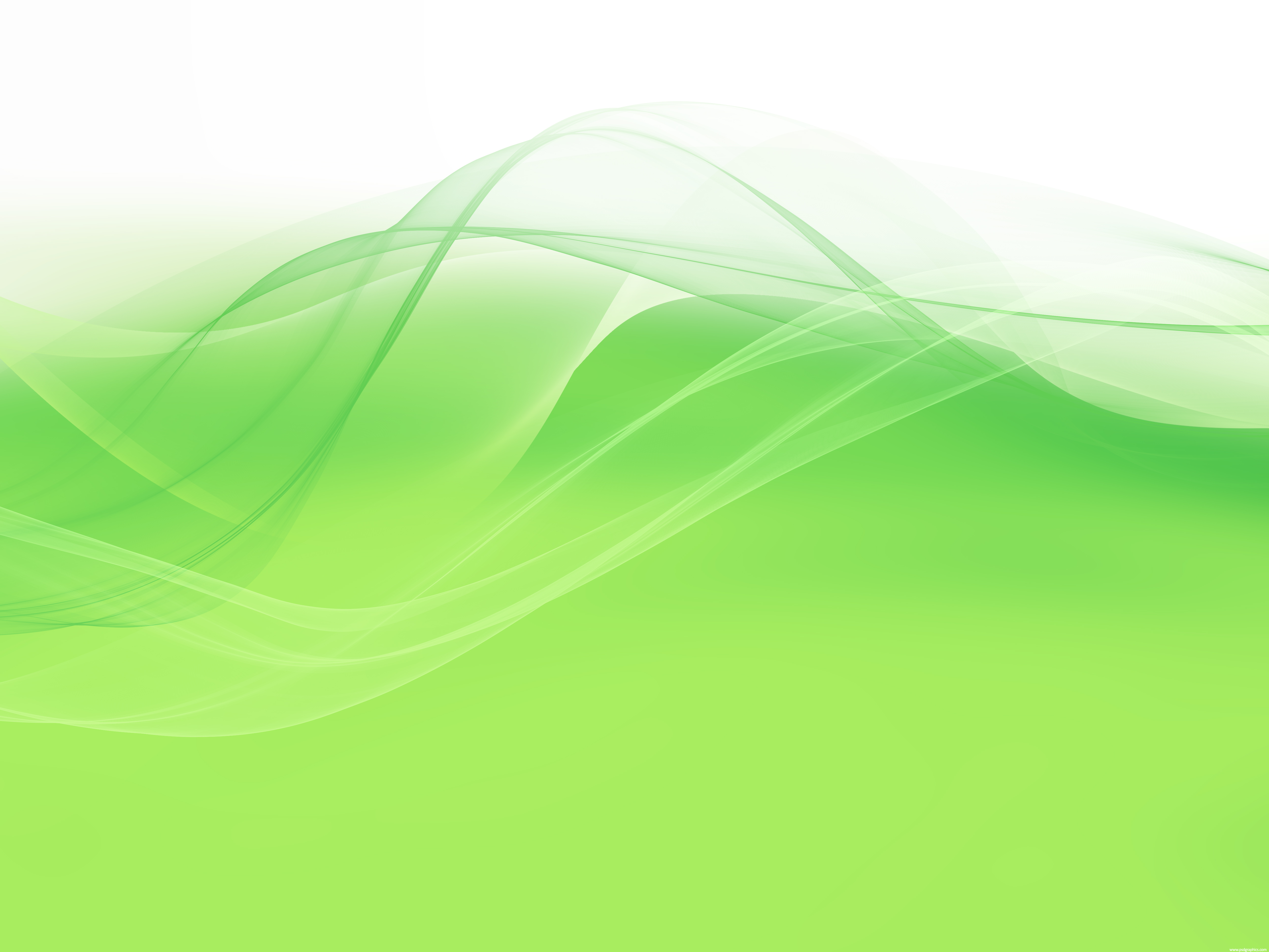 Green Background Design Wallpaper Soft green wavy...