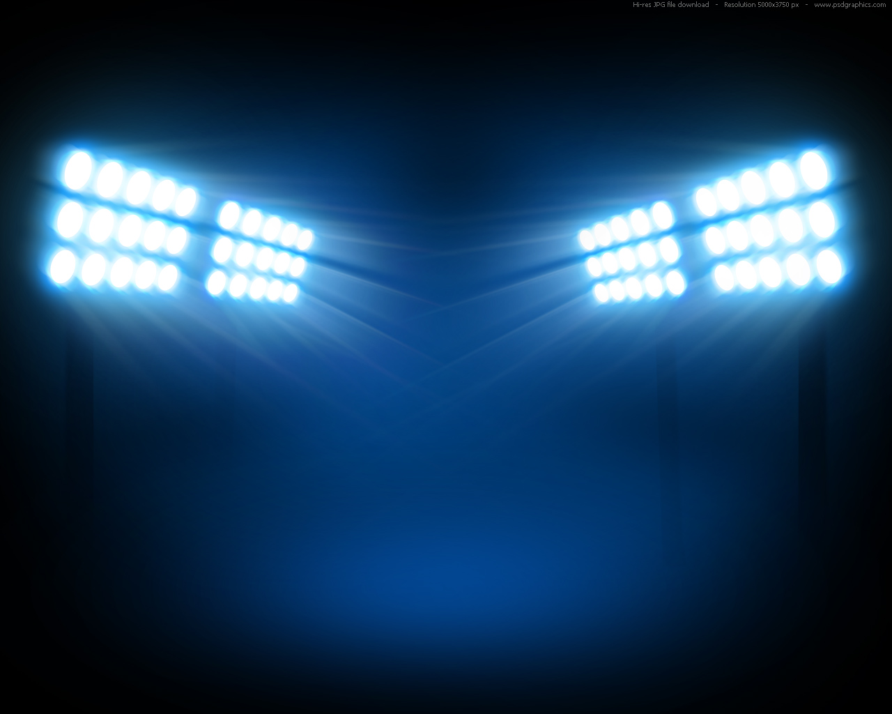 Stadium floodlights backgrounds
