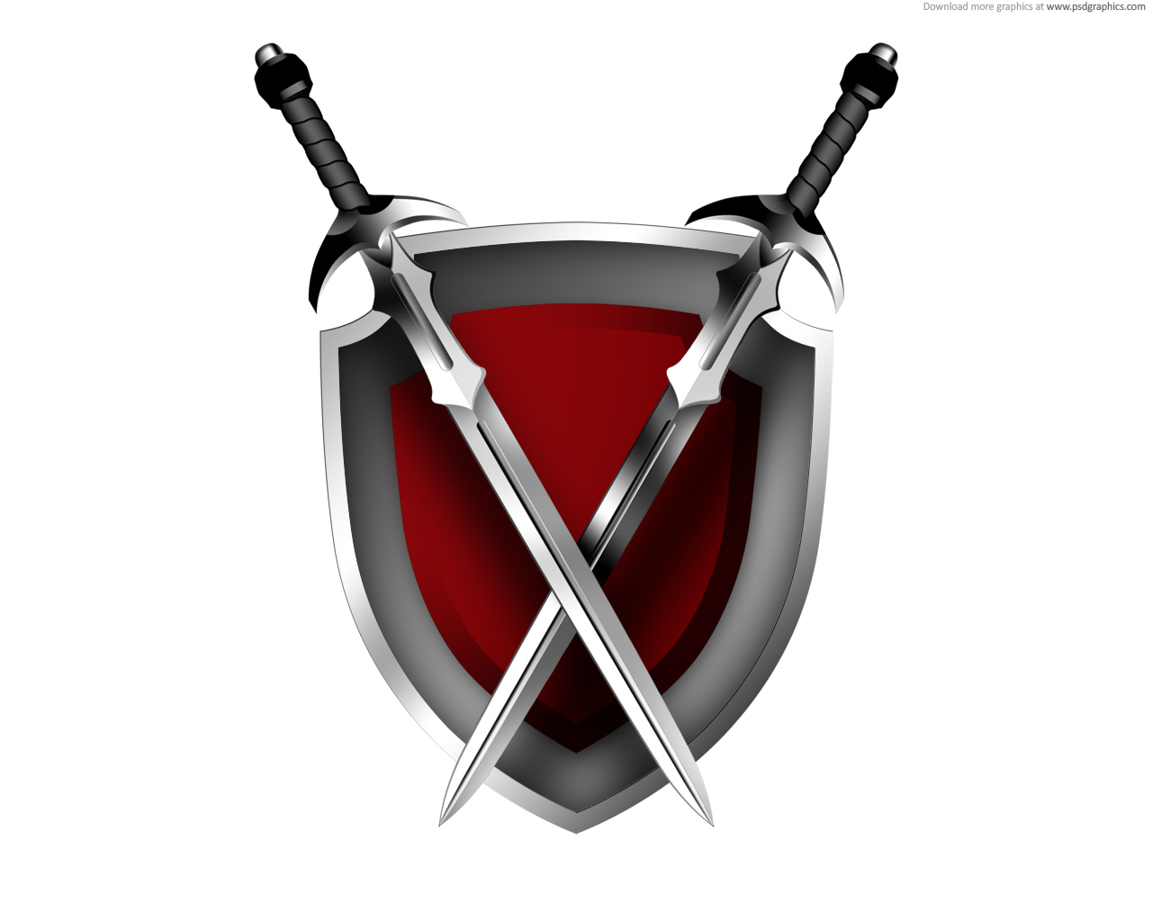 Sistema de Raças inimigas Swords-shield-icon