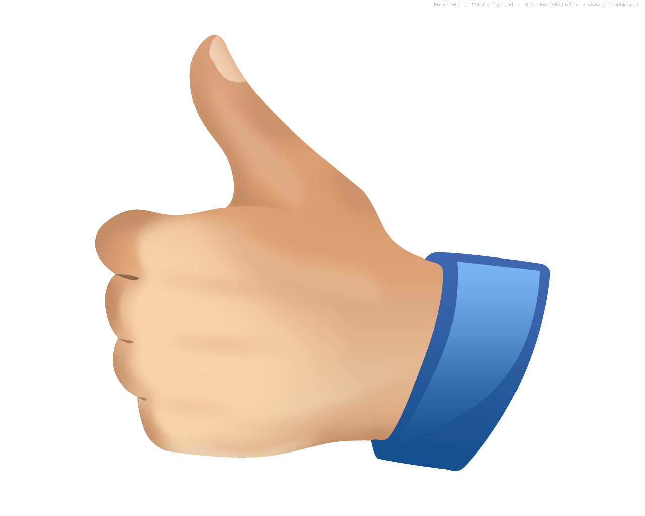 Image result for a thumbs up