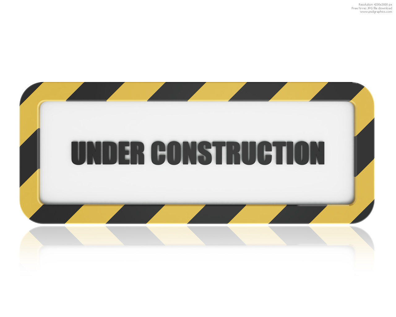 Under construction sign Under Construction Signs