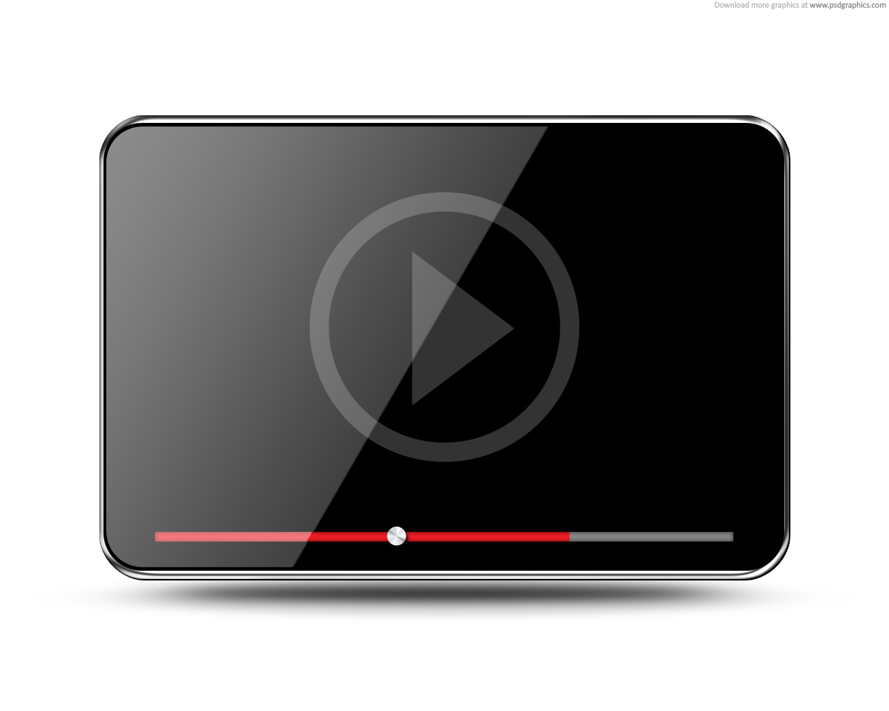 Full size JPG preview: Video player icon