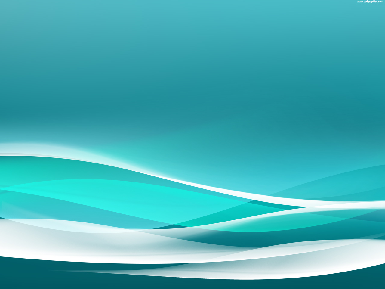 Medium Size Preview 1280x960px Wavy Turquoise Background