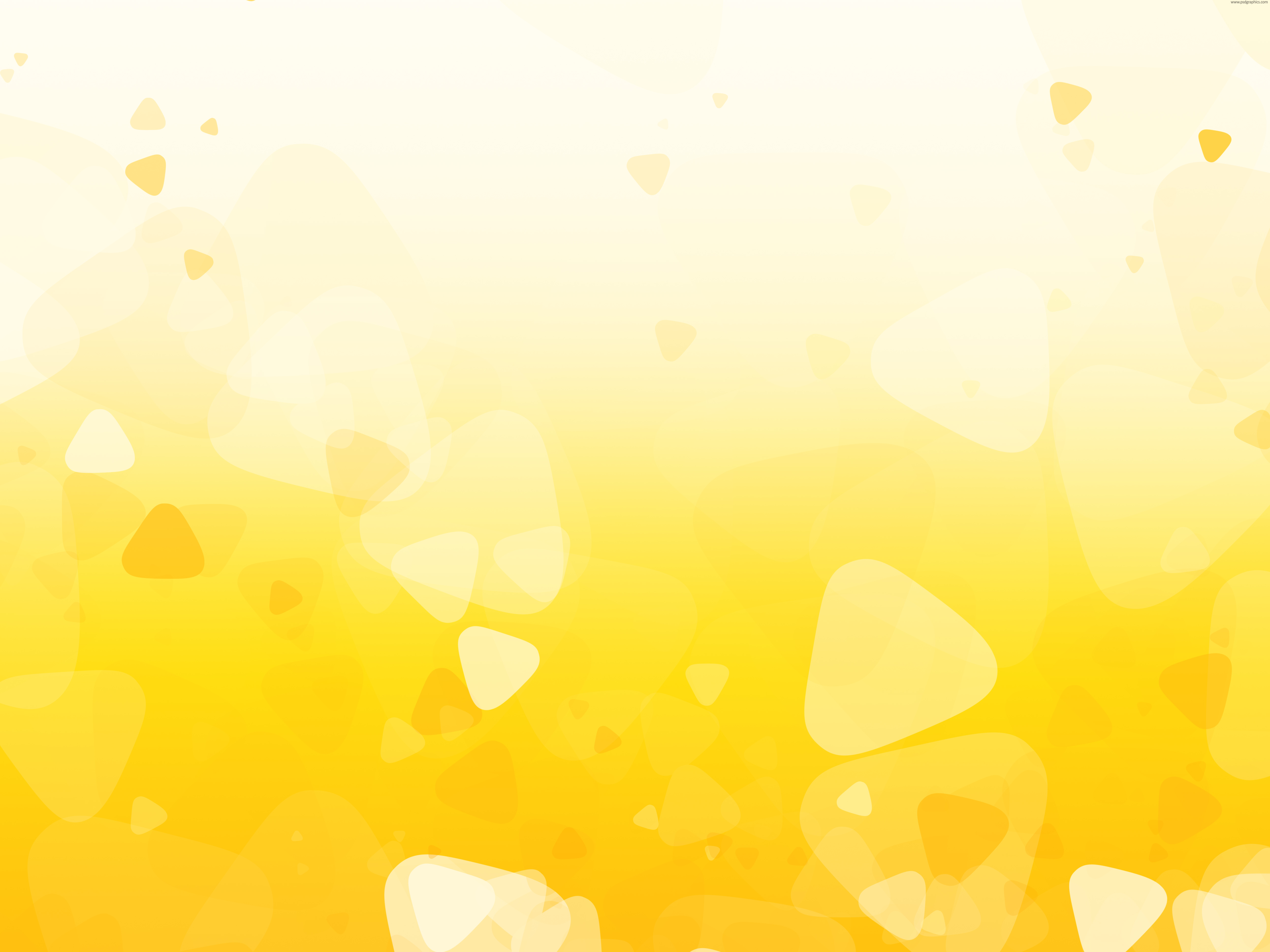 Yellow Shapes Background Background Textures Pinterest