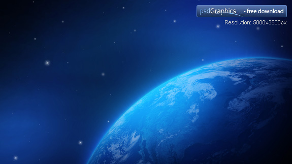 wallpaper space. Blue earth wallpaper