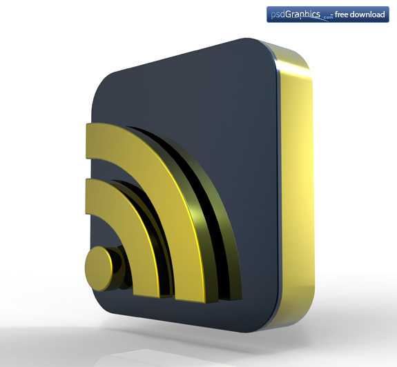 gold RSS icon 2