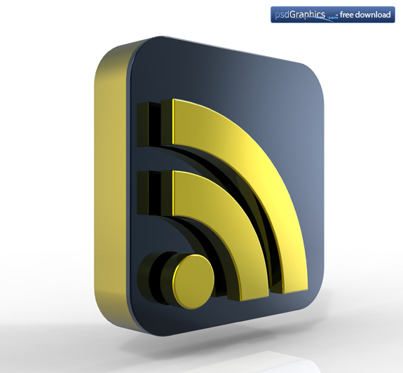 gold RSS icon