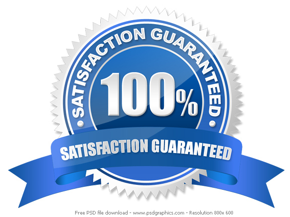 PSD guarantee seal | PSDGraphics