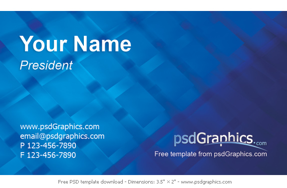 Modern business card psdgraphics modern business card cheaphphosting Image collections