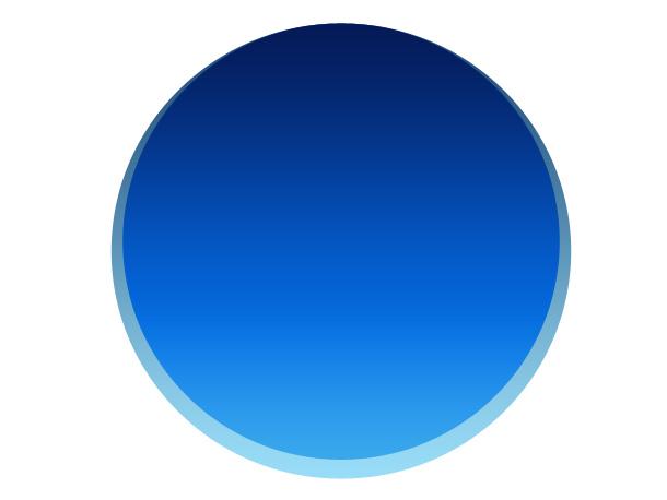 blue gradient circle