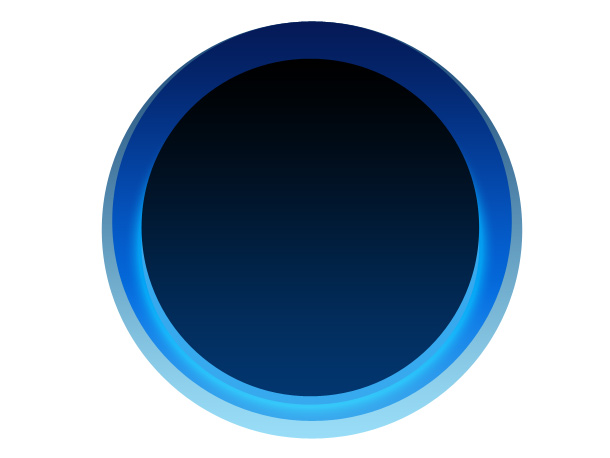Alexa logo photoshop tutorial Dark-blue-circle