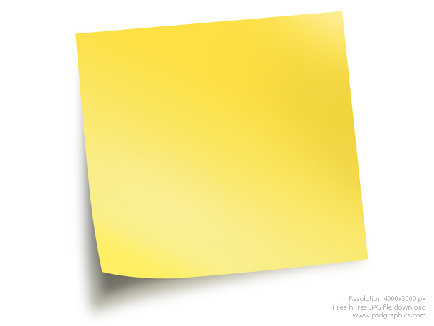 Sticky Notes | Psdgraphics