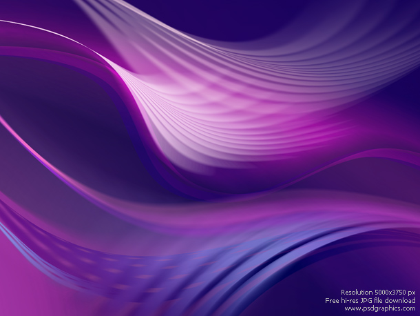 Abstract purple background created in Photoshop. Shiny purple and pink