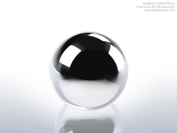 chrome sphere