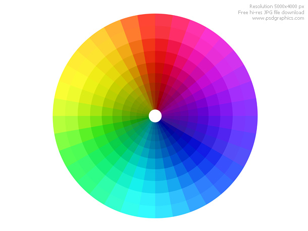 Color spectrum | psdGraphics