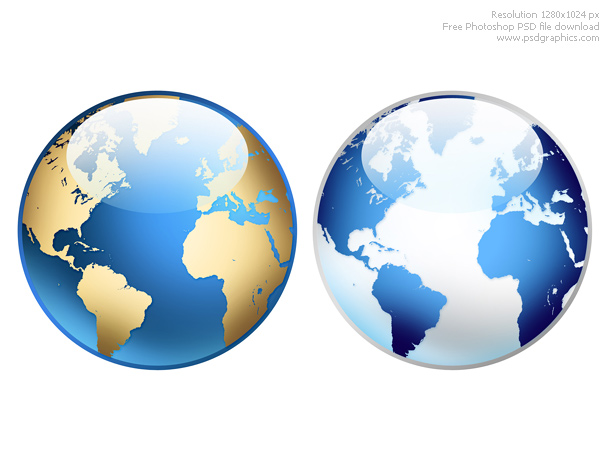 Photoshop world globe icon psdgraphics world globe icon size 6 mb format psd color theme blue yellow white grey keywords photoshop glossy icons web graphics psd sources shiny globes gumiabroncs Gallery