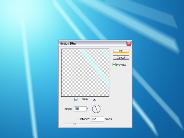 Windows 7 wallpaper Photoshop tutorial 7-apply-motion-blur