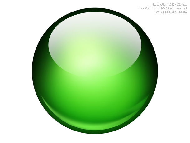 glossy ball graphic