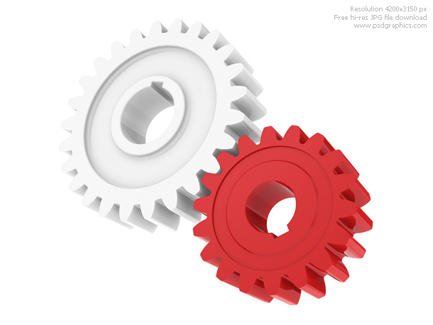 plastic gears model