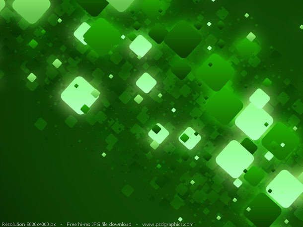 green lights background
