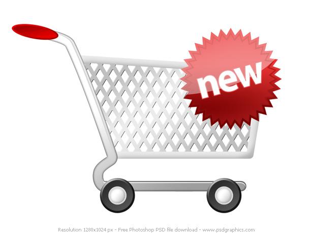 new item cart