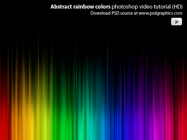 Keywords: colorful backgrounds, photoshop tutorial, watch HD video tutorials
