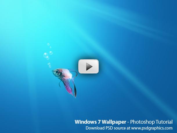 windows 7 wallpaper photoshop hd video tutorial