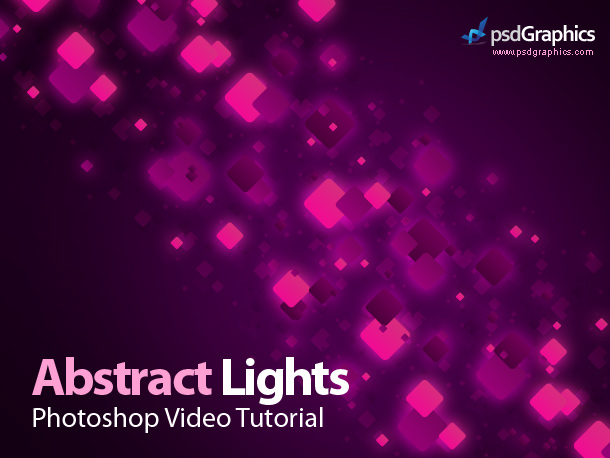 abstract background photoshop video tutorial