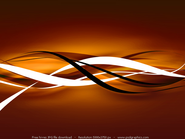 dark orange abstract