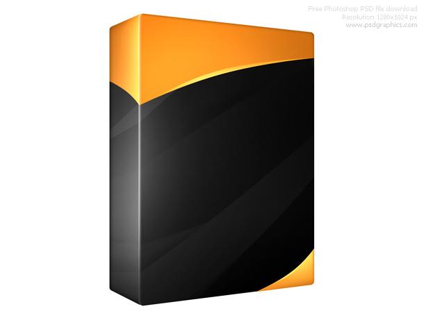 blank black box