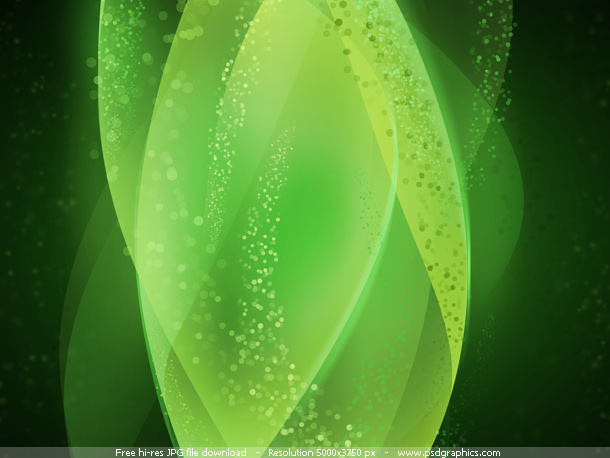 green-lights-background