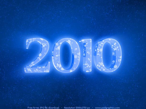 blue 2010 year