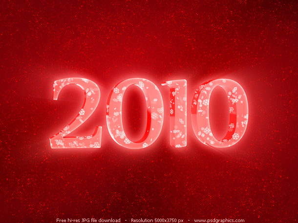 red 2010 year