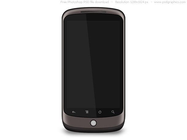 psd google smartphone