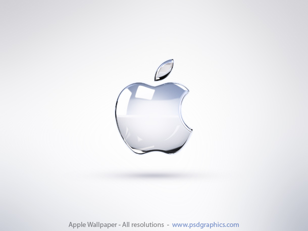 bright wallpaper. Bright Apple wallpaper for