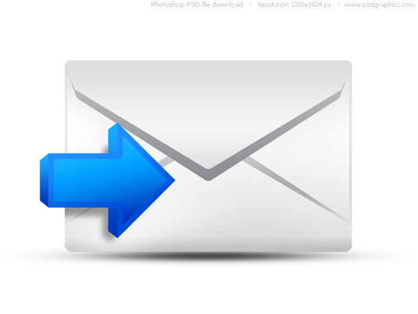 incoming email