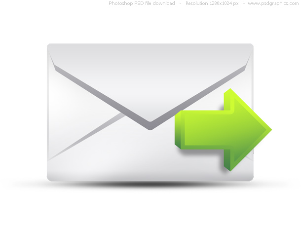 PSD envelope, email icons set | PSDGraphics