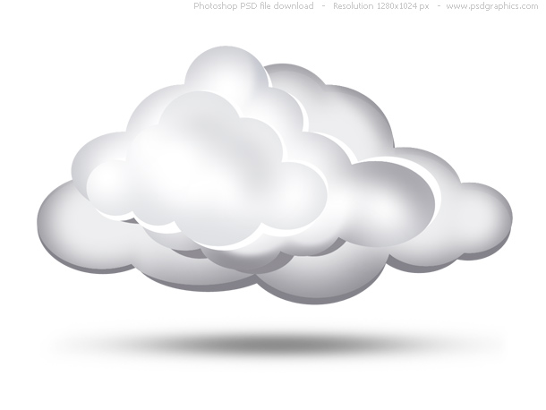 simple clouds icon