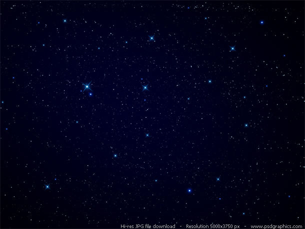 Night Sky Stars Background Psdgraphics